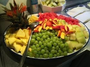Unsere Büffetvariationen - frisches Obst