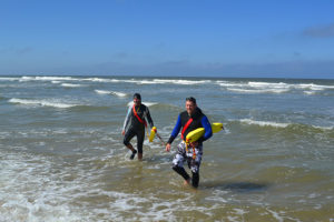 Rettungsschwimmer im Einsatz